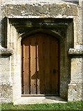 SO9700 : Door, St Matthew's church, Coates by Brian Robert Marshall
