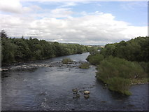 NZ1164 : River Tyne at Wylam by Anthony Foster