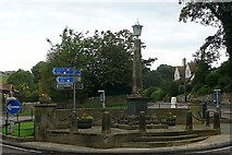 NU2410 : Alnmouth roundabout by Graham Horn