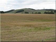 NT6226 : Farmland near Lilliardsedge Park by M J Richardson