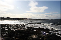 NJ1570 : A westerly view from Daisy Rock by Des Colhoun