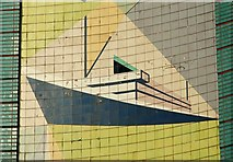 J3474 : Transport House, Belfast (3) by Albert Bridge