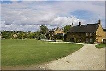 SP4147 : Village green, Warmington by Colin Craig