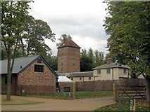 TQ1352 : The Stable Block and Water Tower, Poulden Lacey by Chris Reynolds