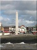 SD3036 : War Memorial, Blackpool Promenade. by Gerald Massey