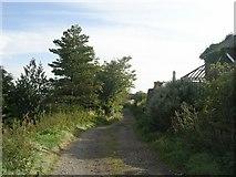 SE0927 : Hag Lane - viewed from Ploughcroft Lane by Betty Longbottom