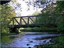 SK3155 : Leawood railway bridge by Alan Murray-Rust