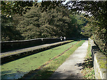 SK3155 : Wigwell Aqueduct by Alan Murray-Rust