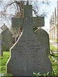 ST8992 : Goodrich gravestone St Mary's Tetbury. by Paul Best