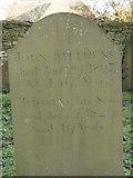 ST8992 : Stephens gravestone St Mary's Tetbury. by Paul Best
