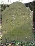ST8992 : Vanstone family gravestone St Mary's Tetbury. by Paul Best