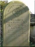 ST8992 : Wear family gravestone St Mary's Tetbury by Paul Best