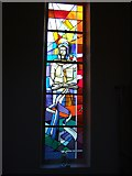 SX9593 : Stained glass window, St Boniface, Exeter by David Smith