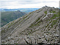 NY2406 : The Great Slab of Flat Crags by K  A