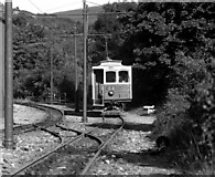 SC4384 : Manx Electric Railway at Laxey by Dr Neil Clifton