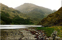 NG9307 : Southern shore of Loch Hourn by Nigel Brown