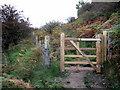 SE8495 : New gate above Havern Beck by John S Turner