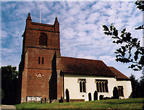 SU7963 : St James, Finchampstead by Michael FORD