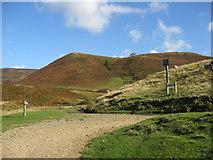 SK1695 : Slippery Stones path meets Cold Side by Alan Heardman