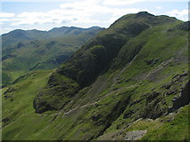 NY2807 : Harrison Stickle from Pavey Ark by K  A