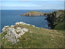 SW9280 : Rumps Point viewed from Pentire Point by Philip Halling