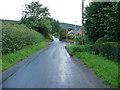 SO3474 : Road in Bucknell by Chris Gunns