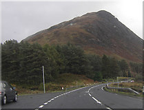 NN2256 : The A 82 near Altnafeadh by Peter Bond