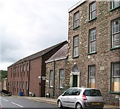 J4844 : Where Irish Street becomes Stream Street by Eric Jones