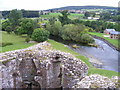 NY5329 : River Eamont from Brougham Castle by PAUL FARMER