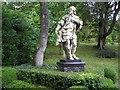 SD3577 : Inigo Jones statue, Holker Hall by Kenneth  Allen