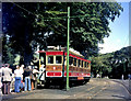 SC4384 : Laxey Station, Snaefell Mountain Railway Car No 1 by Dr Neil Clifton