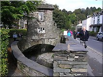 NY3704 : The Bridge House, Ambleside by Kenneth  Allen