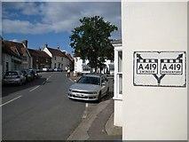 SU2771 : Ramsbury: High Street by Nigel Cox