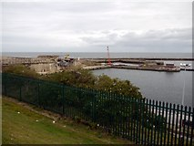 NZ4349 : Seaham Harbour (1) by Andrew Curtis