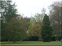 SP5206 : Oxford Centre for Islamic Studies from Headington Hill Park by Andrew Blades