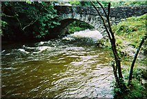 NY3204 : Elterwater Bridge by Peter S