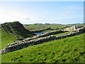 NY7166 : Milecastle 42, Hadrian's Wall by Les Hull