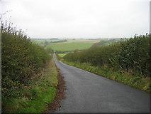 NY9874 : Road to Hallington by Les Hull