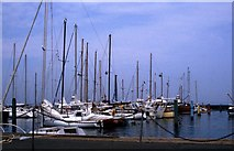 SZ3394 : Lymington Marina by Steve Daniels