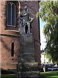 NY4055 : Statue, William, Earl of Lonsdale, Carlisle by Kenneth  Allen