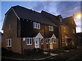 TQ6855 : New Housing on Amber Lane, Kings Hill, Kent by Oast House Archive
