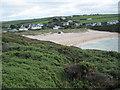 SW8572 : Porthcothan Beach by Philip Halling
