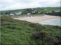 SW8572 : Porthcothan Beach by Philip Halling