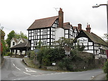 SO3958 : Pembridge - The New Inn by Peter Whatley