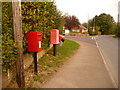 ST8027 : Gillingham: postbox № SP8 101, Bay Road by Chris Downer