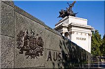TQ2879 : Australian War Memorial by Martin Addison