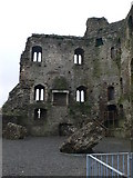 T0149 : Ferns Castle by Eirian Evans