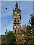 NS5666 : Glasgow University tower by Thomas Nugent