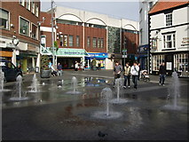TA2609 : The Old Market Place Grimsby by Richard Hoare
