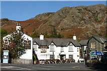 SD3097 : Black Bull Inn, Coniston by Peter Trimming